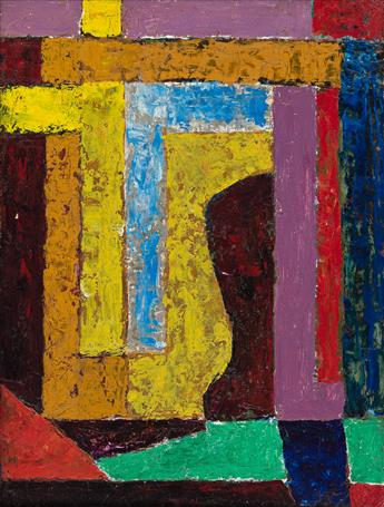 JAMES DAUGHERTY (1887 - 1974, AMERICAN) Abstraction.