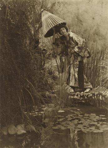 EDWARD WESTON (1886-1958) Ruth St. Denis dressed i