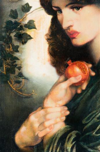 "HONI WERNER (20th century) ""Practical Magic."" [ALICE HOFFMAN / PRE-RAPHAELITES / DANTE GABRIEL ROSSETTI]"