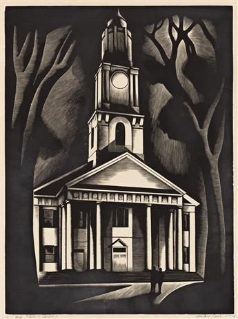 HOWARD COOK (1901-1980) Pair of prints.