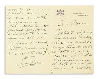 CARUSO-ENRICO-Archive-of-47-letters-each-Signed-ECaruso-Caru
