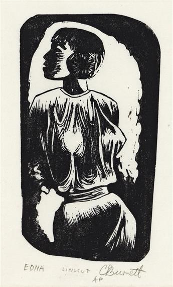 CALVIN BURNETT (1921 - 2007) Edna.