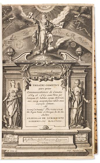 Lubieniecki, Stanislaw (1623-1675) Theatrum Cometicum, Duabus Partibus Constans.