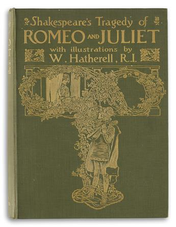 SHAKESPEARE-WILLIAM--HATHERELL-WILLIAM-Romeo-and-Juliet