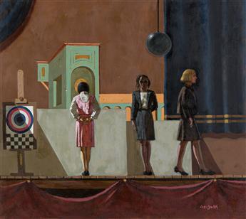 HUGHIE LEE-SMITH (1915 - 1999) Curtain Call.