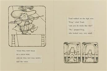 "ARNOLD LOBEL. ""Toad will now walk on a high wire,"