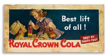ROYAL CROWN COLA. Best Lift of All!