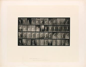 EADWEARD MUYBRIDGE (1830-1904) A selection of 7 plates from Animal Locomotion of men engaged in various activities.