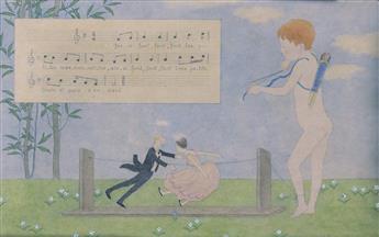 MAURICE BOUTET DE MONVEL. LAmour Musicien * LAmour Chassant.