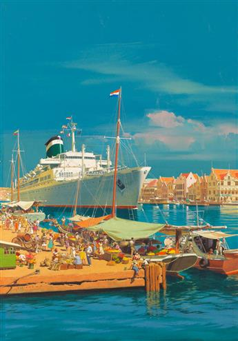 (ADVERTISING--TRAVEL--CARRIBEAN)--CG-EVERS--Curaçao