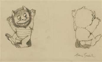 MAURICE SENDAK. The Wild Things. [CHILDRENS / DOLLS / TOYS]