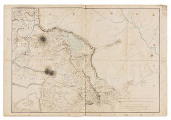 (MANUSCRIPT MAP.) [Armenia].