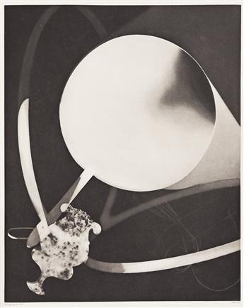 JEAN COCTEAU (1889-1963) & MAN RAY (1890-1976) L'Ange Heurtebise.