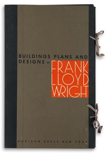 (ARCHITECTURE)-Wright-Frank-Lloyd-Buildings-Plans-and-Design