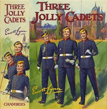 "J.R. BURGESS. ""Three Jolly Cadets."" [CHILDREN'S /"