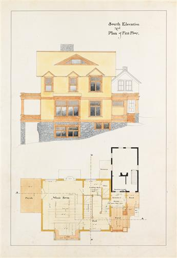 (ARCHITECTURE--CONNECTICUT)-Stilson-William-W-Designs-and-Sp