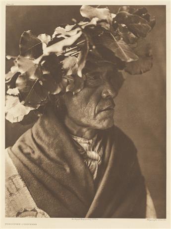 EDWARD-S-CURTIS-(1868-1952)-Self-portrait-in-felt-hat
