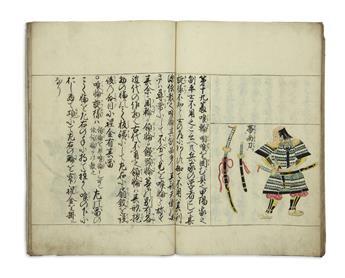 (JAPAN----SAMURAI)-Manuscript-samurai-dressing-manual