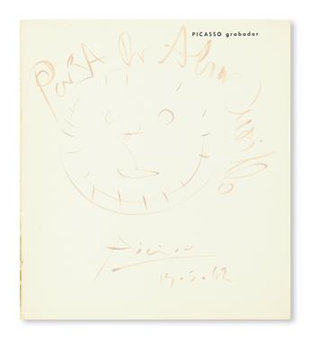 PICASSO-PABLO-Complete-exhibition-catalogue-Signed-and-Inscr