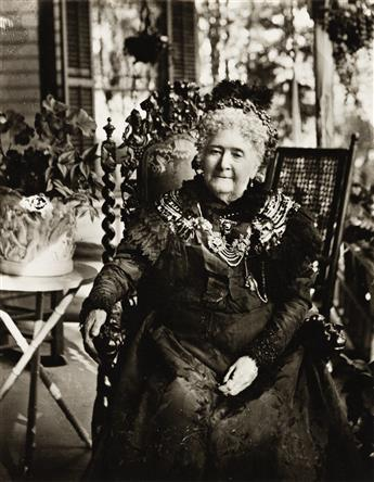 JAMES VANDERZEE (1886 - 1983) Mrs. Turner, Lenox, Mass.