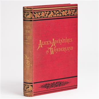 (CHILDRENS LITERATURE.) CARROLL, LEWIS. Alices Adventures in Wonderland ... New Edition.