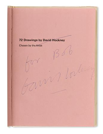 DAVID HOCKNEY (1937 - ) 72 Drawings. Signed and In