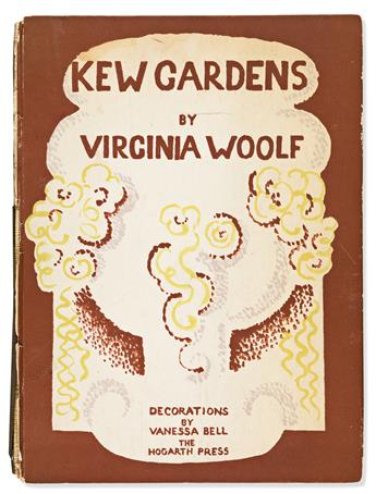 WOOLF, VIRGINIA. Kew Gardens.