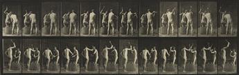 EADWEARD-MUYBRIDGE-(1830-1904)-A-selection-of-7-plates-from-