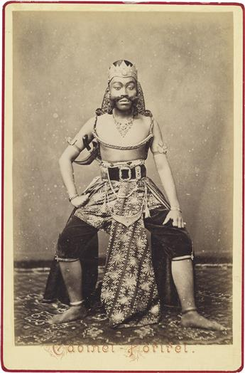 (JAVA)-A-scarce-suite-of-8-photographs-portraying-traditiona