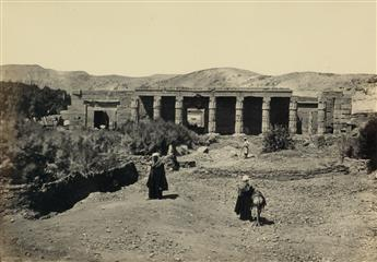 FRANCIS FRITH (1822-1898) Suite of 22 photographs from Egypt and Palestine, Volumes I and II, comprising 13 of Palestine and 9 of Egypt