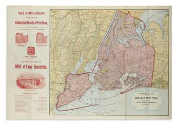(NEW-YORK-CITY)-Eureka-Fire-Hose-Co-Pocket-Map-of-Greater-Ne