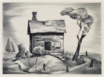 CHARLES ALSTON (1907 - 1977) Deserted House.