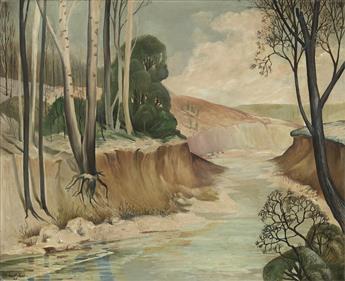 ROBERT NEAL (1916 - 1987) Untitled (Winter Landsca
