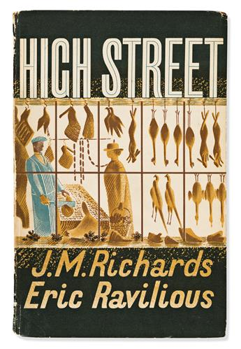 RAVILIOUS (ERIC), RICHARDS (J.M.). High Street.