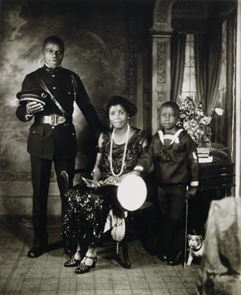 JAMES VANDERZEE (1886 - 1983) Eighteen Photographs.