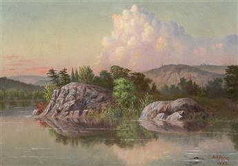 D. S. PEIRCE Lake Tear of the Clouds, Headwaters of the Hudson River, New York.