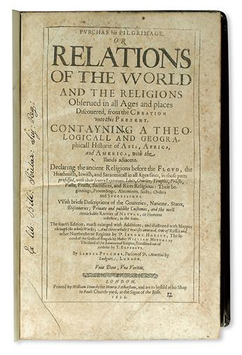 PURCHAS-SAMUEL-Purchas-His-Pilgrimes-[Pilgrimage]-5-vols-162
