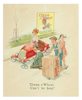 (ADVERTISING.) JAMES LESLIE WALLACE. Cream o Wheat Cant Be Beat!