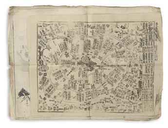 (JAPAN -- PERRY.) Archive of 9 kawaraban relating
