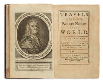 Swift, Jonathan (1667-1745) Travels into Several Remote Nations of the World.