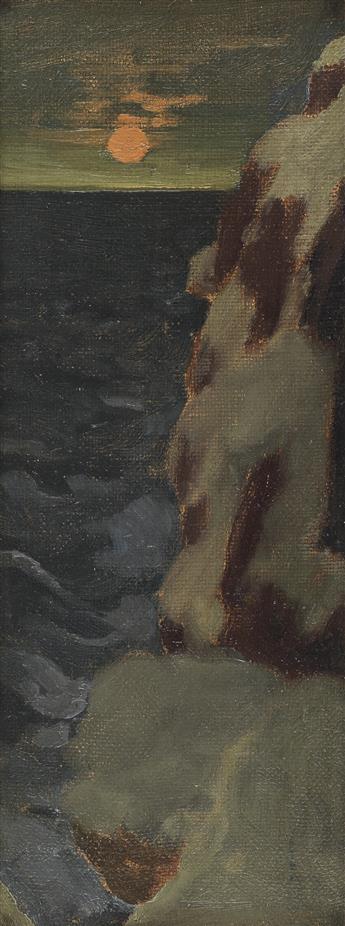 ARTHUR-B-DAVIES-Coastal-Moonlight