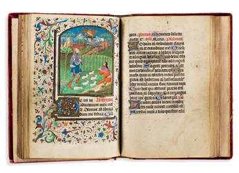 Book-of-Hours-with-Illuminated-Miniatures-France-mid-15th-ce