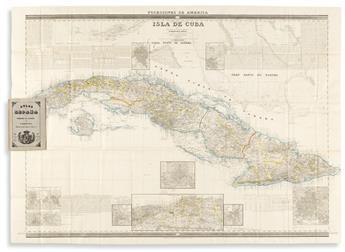 (CUBA.) Francisco Coello. Isla de Cuba.