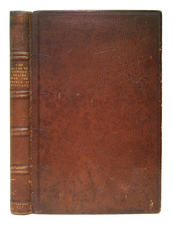 BOOK OF COMMON PRAYER.  The Booke of Common Prayer . . . for the use of the Church of Scotland.  1637-36