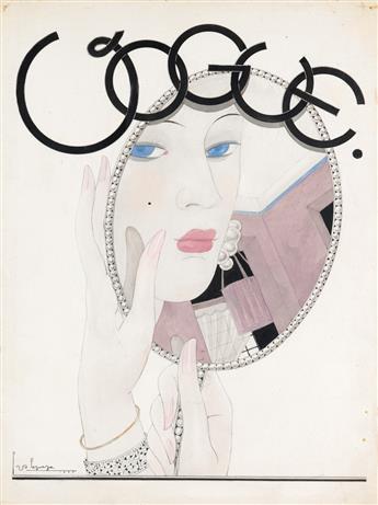 GEORGES LEPAPE. Le Miroir.
