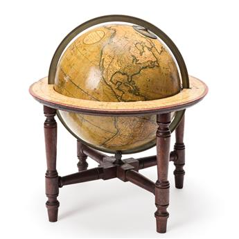 (GLOBES.) J. & W. Cary. Carys New Terrestrial Globe.
