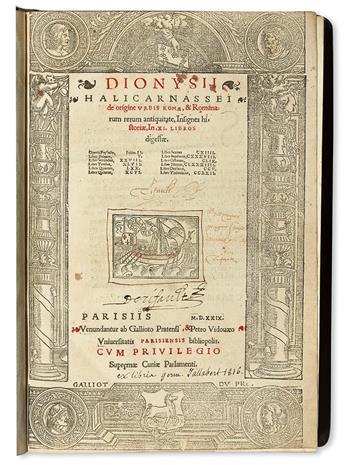 DIONYSIUS-of-Halicarnassus--De-origine-urbis-Romae--Romanoru