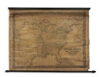 COLTON, JOSEPH HUTCHINS. Map of the United States