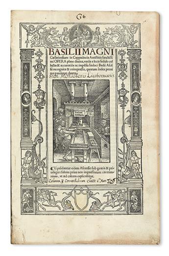 BASIL, Saint.  Opera plane divina.  1520