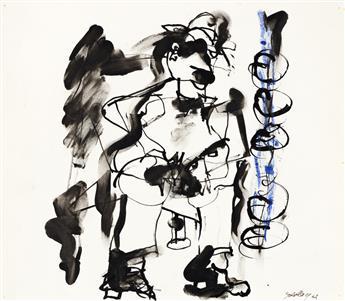 MICHAEL GOLDBERG (1924 - 2007, AMERICAN) Untitled, (MG 5).